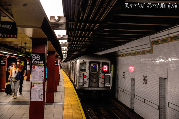R62 3 Train Leaves 96th Street