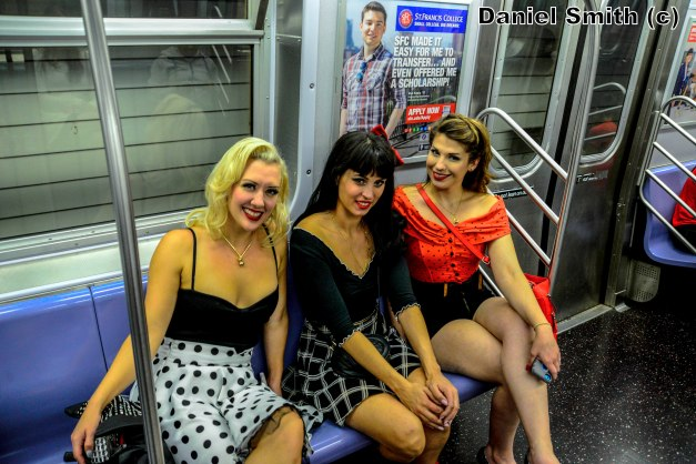 Girls On The F Train