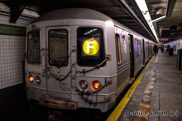 R46 F Train At 23rd Street