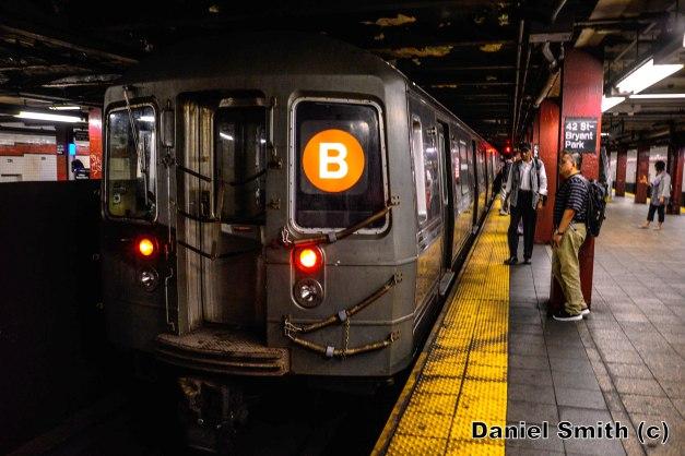 R68 B Train At 42nd Street