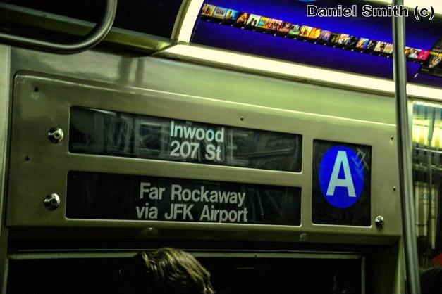 R68 A Train Rollsign