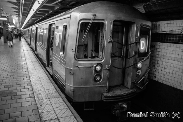 R68 2556 On The D Train At 125th Street