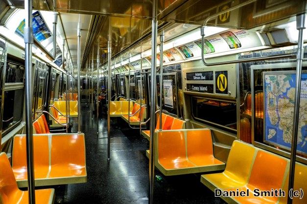 R68 N Train Interior