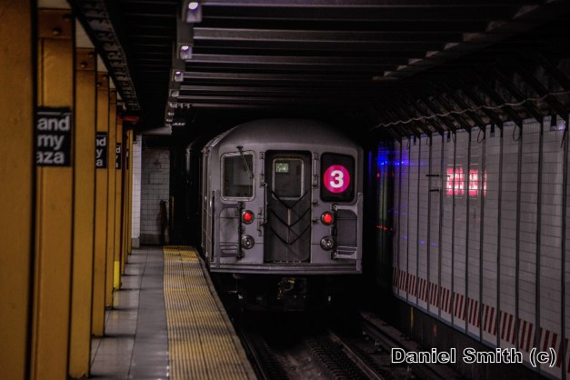 R62 3 Train Leaves Grand Army Plaza