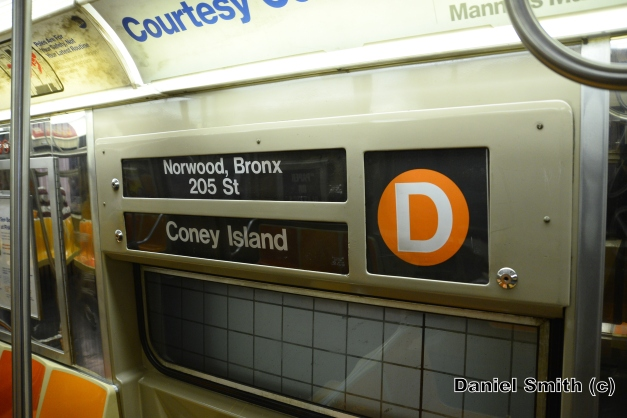 R68 (D) Train Interior Rollsign
