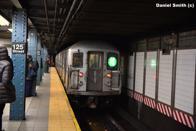 R62A (4) Train Leaves 125th Street