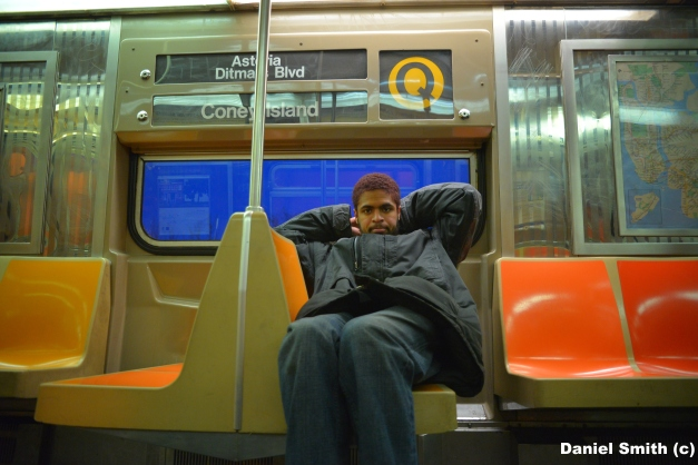 Daniel On The R68 (Q) Train