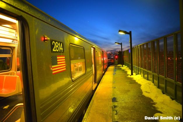 Q Train - West 8th Street (Sunset)
