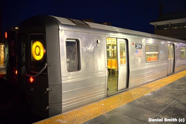 R68 Q Train - Coney Island-Stillwell Avenue
