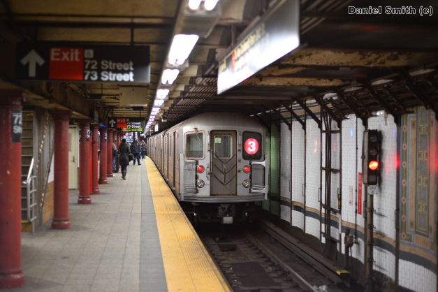 R62 3 Train Leaves 72nd Street