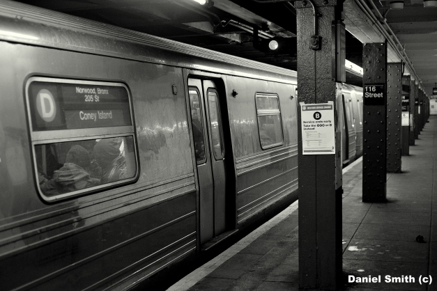 R68 2660 On The D Train At 116th Street