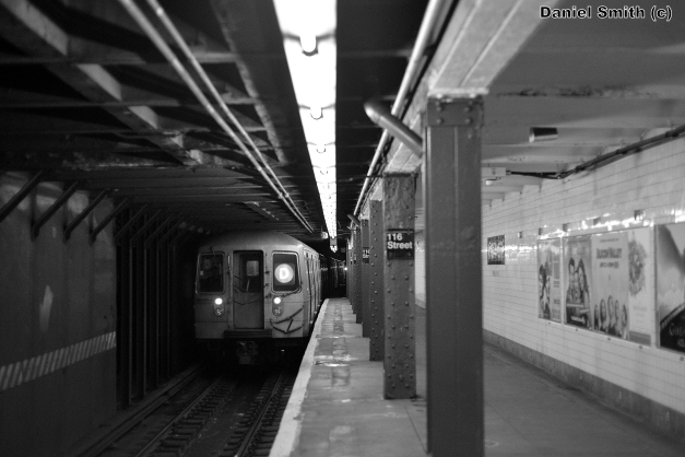R68 2680 On The D Train Leaves 116th Street