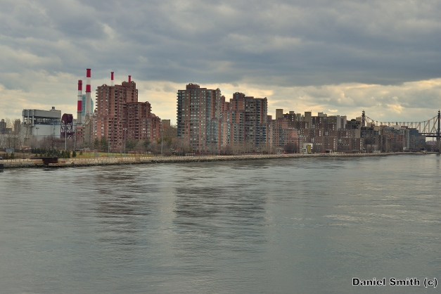 Cloudy Day On The East River