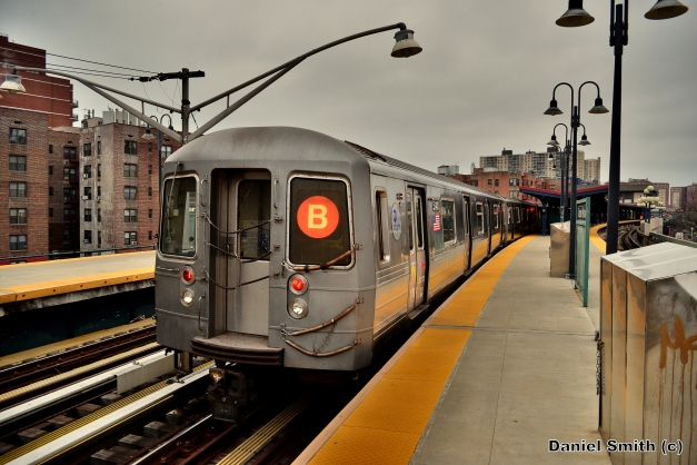R68A B Train At Ocean Parkway