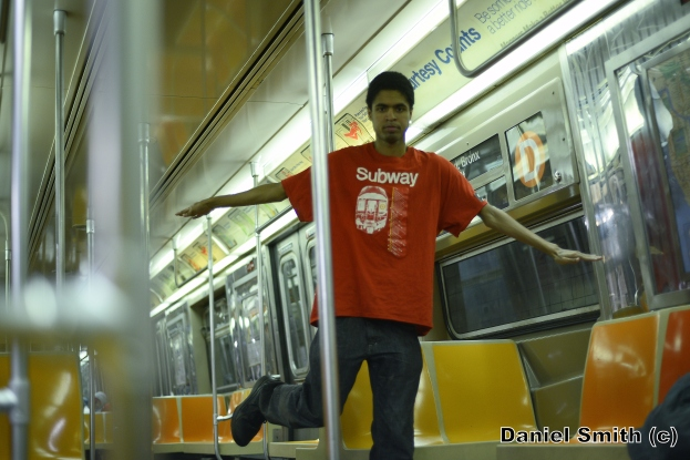 Daniel And His Westinghouse R68 (D) Train