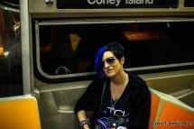 Female DJ On The D Train