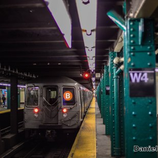 R68 B Train Leaves West 4th Street
