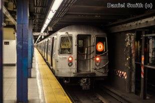 R68 D Train At Chambers Street