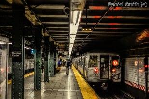 R68 D Train Leaves Atlantic Avenue