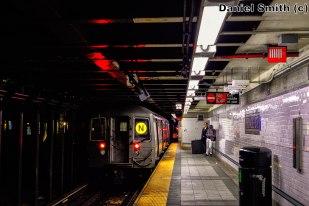 R68 N Train Leaves Prince Street