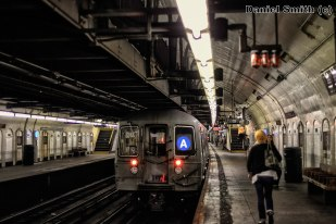 R68 A Train Leaves 181st Street