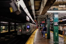 R68 A Train Leaves 125th Street