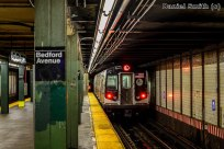 R160A-1 L Train Leaves Bedford Avenue
