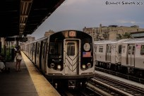 R143 J Train Approaching Marcy Avenue