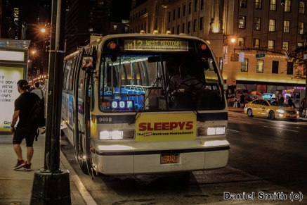NovaBus RTS-06 9698 On The M12 At West 58th Street