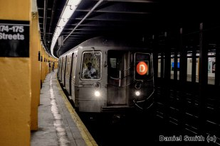 R68 D Train Approaching 174-175th Streets