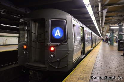 R68 A Train At 125th Street