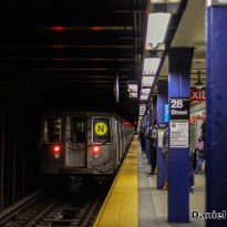 R68 N Train Leaves 28th Street