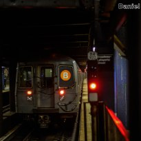 R68A B Train At Broadway-Lafayette Streets