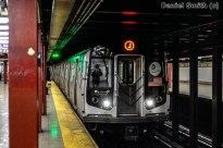 R143 J Train Approaching Broad Street
