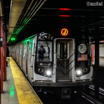 R143 J Train Approaching Broad Street