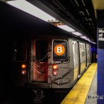 R68 B Train At 81st Street
