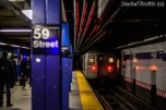 R68 B Train Leaves 59th Street-Columbus Circle