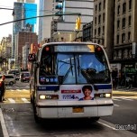 NovaBus RTS-06 9389 On The M20 At West 50th Street