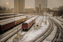 Concourse Yard In The Snow