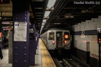 R68 D Train Leaves 42nd Street-Port Authority