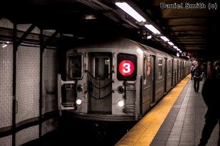 R62 3 Train Approaching 72nd Street