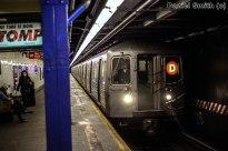 R68A D Train Approaching 116th Street