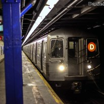 R68A D Train Approaching 116th Street