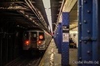 R68 D Train Leaves 116th Street