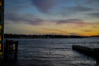 Sunset At East River