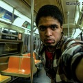 Daniel Takes A Selfie On The R68 (D) Train
