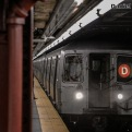 R68 D Train Approaching 34th Street-Penn Station