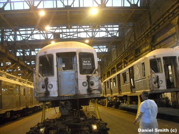 R40M Not In Service At 207th Street Yard