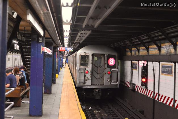 R62A 1 Train Leaves 14th Street
