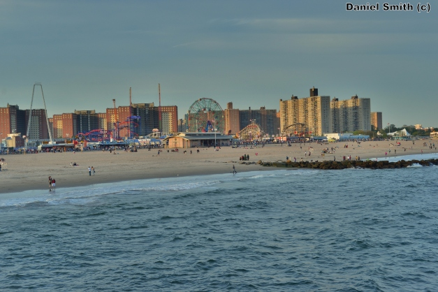 Coney Island During Sunset